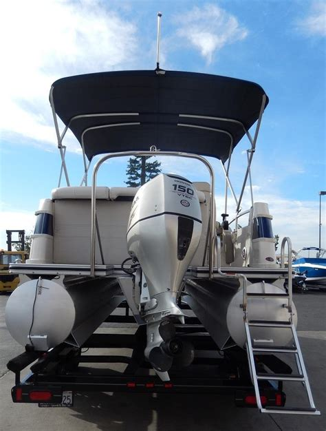 used pontoon boats for sale perris ca 2007 used harris kayot crown 230 pontoon boat for sale