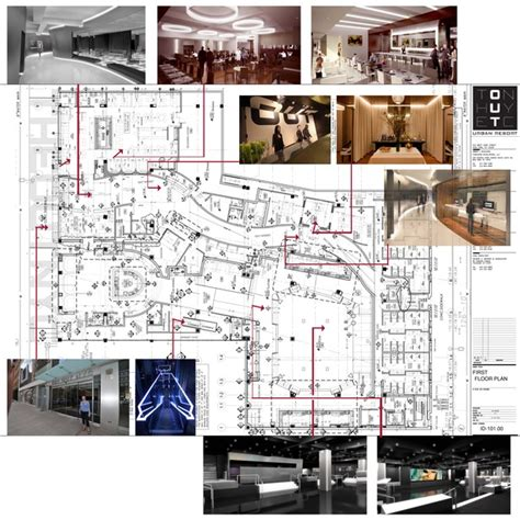 hotel reception layout plan the out nyc hotel new york maryam tronco archinect