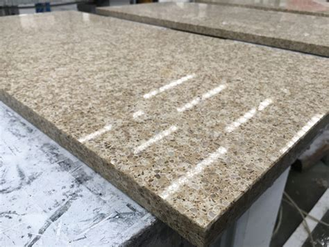How Are Countertops by Hotel Daltile Pacific Sand Quartz Counter Tops