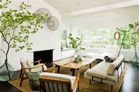 Living Room Plants Decor Improving Home Interiors With Indoor Plants Interior Gardens