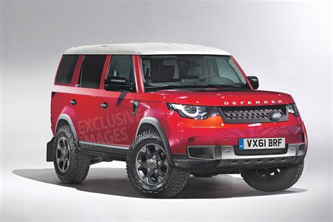 New Land Rover Defender 2018 by New Land Rover Defender Dc100 Concept Revealed News