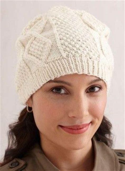 Free Knitting Pattern Aran Hat Knits And Stitch Juxtapost