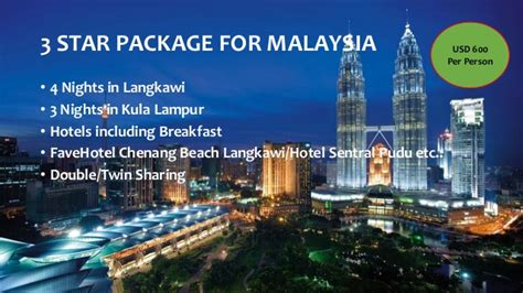 new year tour package malaysia new year package for malaysia 2015