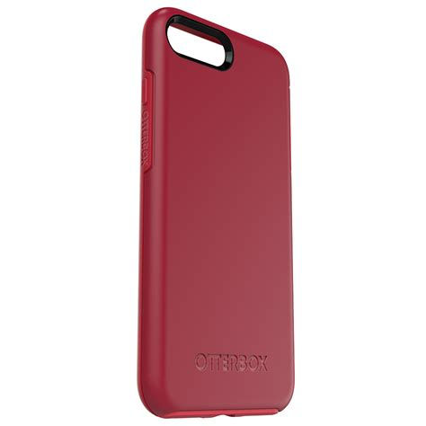 otterbox symmetry case  iphone   red  mighty