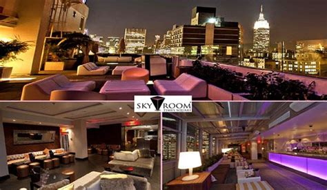 sky room rooftop ra skyroom nyc saturdays nycs highest rooftop at sky room new york 2014