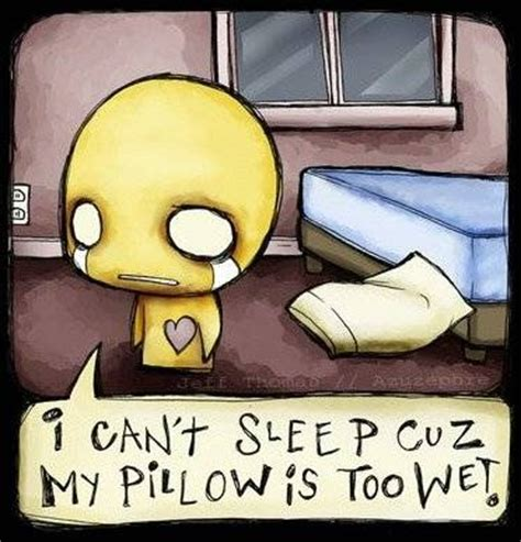 sleep cuz  pillow   wet comment pics coolspacetrickscom myspace layouts