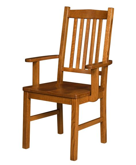 Mission Arm Chair Design Ideas Artisan Amish Mission Dining Chair Amish Direct Furniture