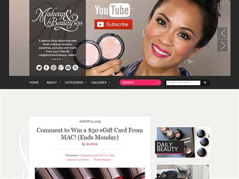hair and makeup blogs best beauty blogs to follow