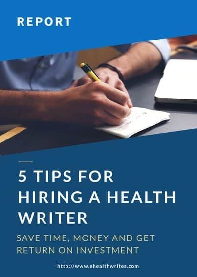 Offer Healthier Strategy For And Professional ehealthwrites professional and audience customized health writing needs