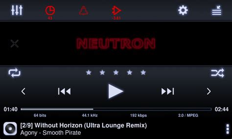 android flac player neutron the best hd player for android flac dsd mp3 audiophile on
