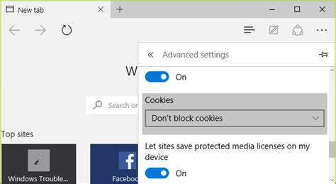 browsers email microsoft edge cookies allow or block configure how microsoft edge treats cookies