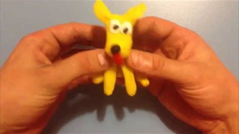 puppy play doh how to make a play doh like pluto from mickey mouse clubhouse