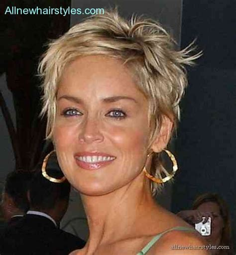 sharon stone most recent hairstyle sharon stone hair cuts allnewhairstyles com