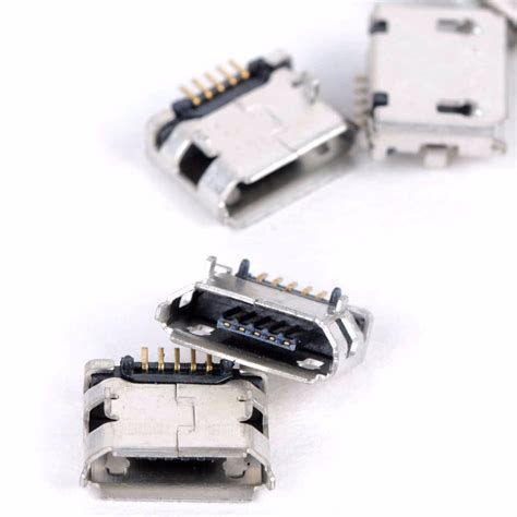 Usb20 Usb 20 To Dip 20pcs high quality micro usb type b 5 pin smt placement smd dip socket connector