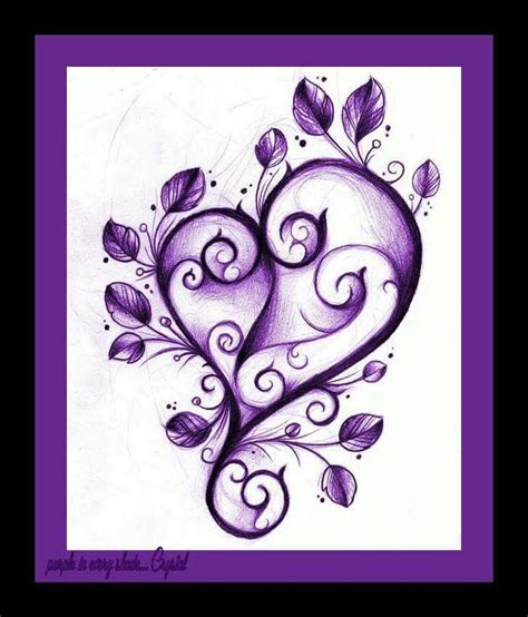 purple heart tattoo designs 25 best ideas about purple tattoos on