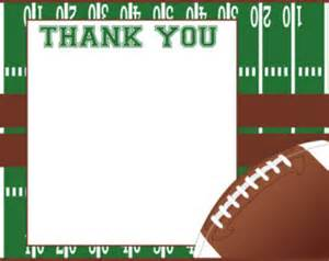 popular items for football thank you on etsy
