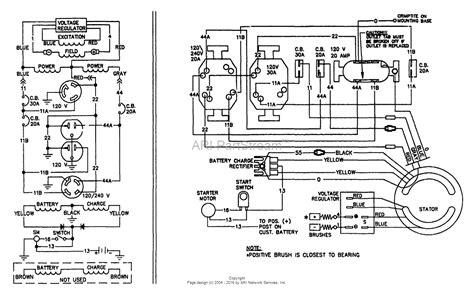 onan 4000 generator wiring diagram 3 phase onan generator