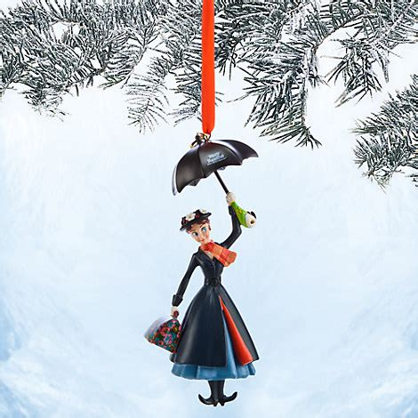 mary poppins sketchbook ornament 50th anniversary