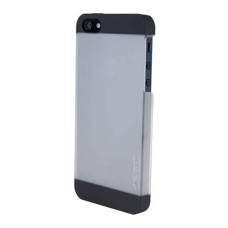 Rubber Cover Iphone 5sse aegis rubber shell iphone 5s 5 clear and black