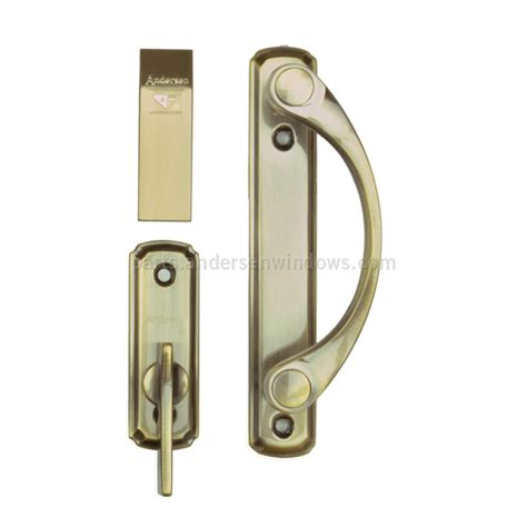 patio door hardware andersen 174 gliding patio door hardware interior trim set