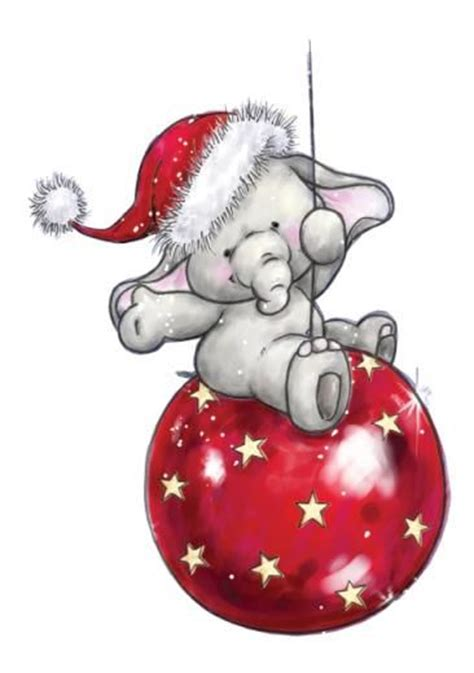 images of christmas elephants elephants little elephant and red christmas on pinterest