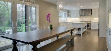 Split Level Open Floor Plan Kitchen by Upscale Remodeler Contemporary Classic Edina Mn Gonyea
