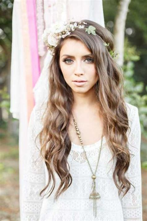 Wedding Hairstyles For Hair Boho by 23 New Beautiful Wedding Hair Hairstyles Haircuts 2016
