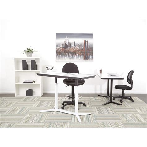 pro desk at the home depot pro line ii pneumatic height adjustable table pht70523
