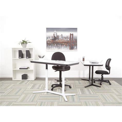 pneumatic height adjustable desk pro line ii pneumatic height adjustable table pht70523