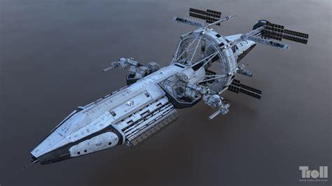 ship designer artstation iron sky uss george w bush tuomas kankola
