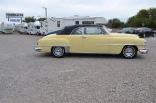 chrysler 2 door coupe 1951 chrysler deluxe convertible coupe 2 door for