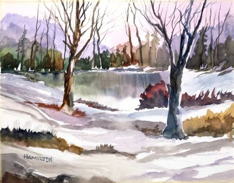 watercolor tutorials larry hamilton paint along with larry hamilton watercolor quot woods by