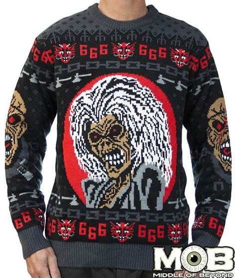 Sweater Iron Maiden Iron Maiden Enters The Sweater With A