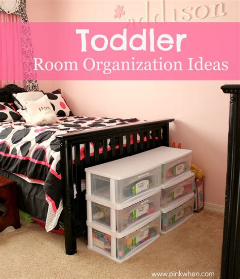 room organization ideas toddler room organization ideas pinkwhen