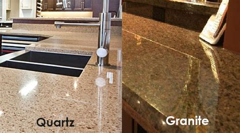 Granite Vs Quartz Countertop by Quartz Vs Granite Solid Surface Countertops Kitchen