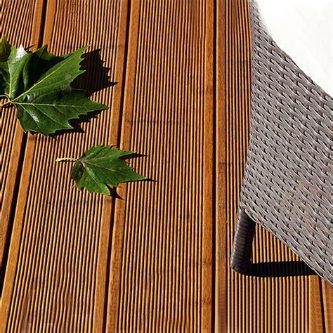 Terrassendielen Aus Bambus by Cobam Terrassendiele Bambus Bambus 220 X 14 X 2 Cm 3