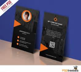 business card template psd modern corporate business card template free psd