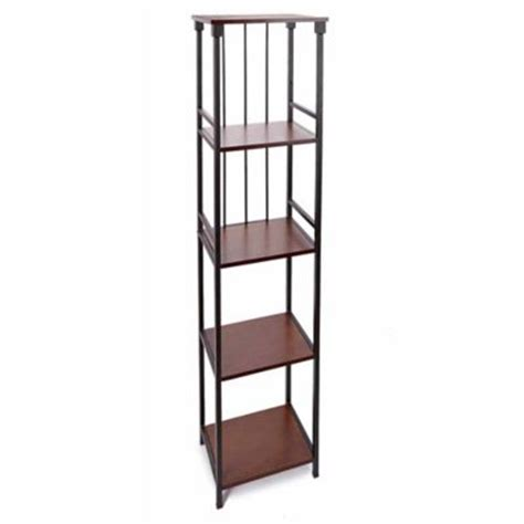 rubbed bronze floor l buy l etagere 5 shelf tower in rubbed bronze from bed