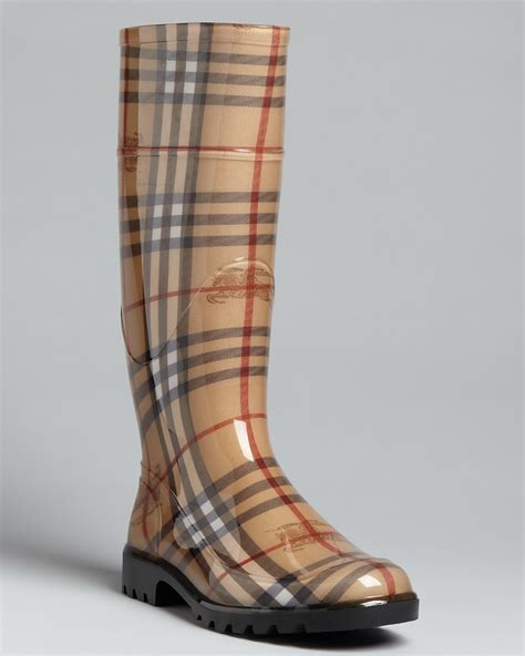 s burberry boots burberry boots haymarket check plaid bloomingdale s