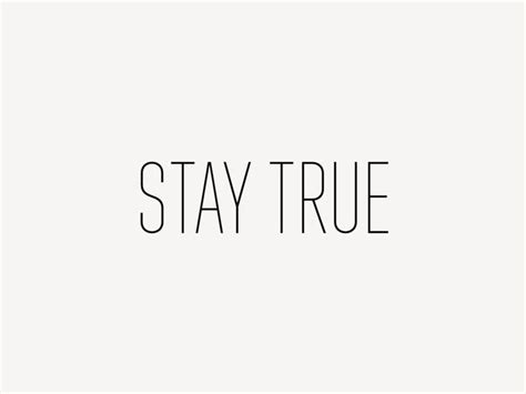 Stay Simple stay true readable