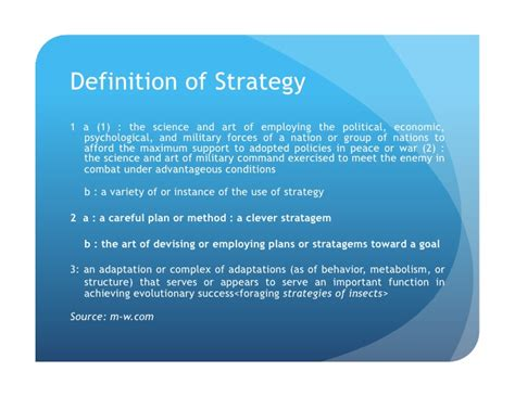 definition of marketing strategy what is strategy