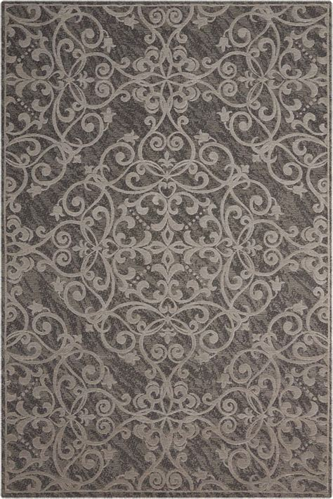 grey damask rug damask collection by nourison