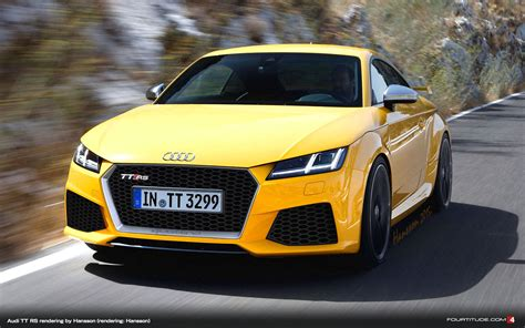 The New Audi Tt by New Audi Tt Rs Rendering By Hansson Fourtitude