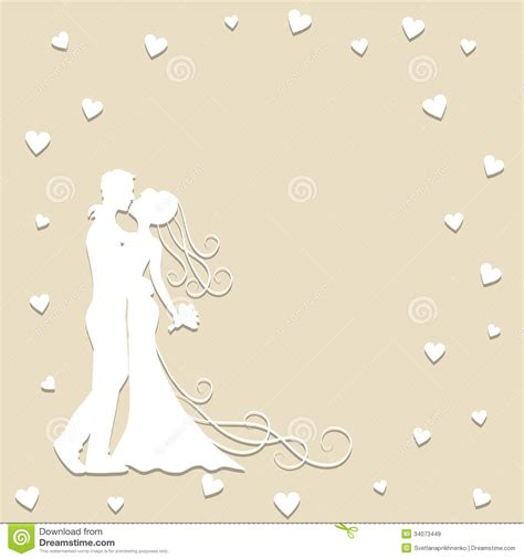 wedding paper paper wedding card royalty free stock images image 34073449