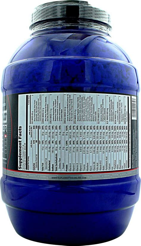 Iso Mass Xtreme Gainer 1011lb By Ultimate Nutrition ultimate nutrition iso mass xtreme gainer photo gallery at
