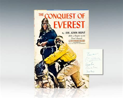 the conquest of everest original photographs from the legendary first ascent the conquest of everest edmund hillary first edition