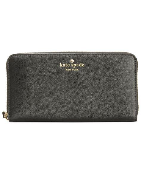 Kate Spade Wallet kate spade cedar wallet in black lyst