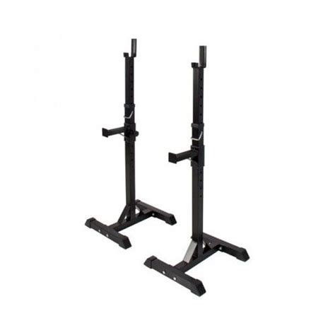 portable bench press squat rack stand adjustable standard steel cross fit