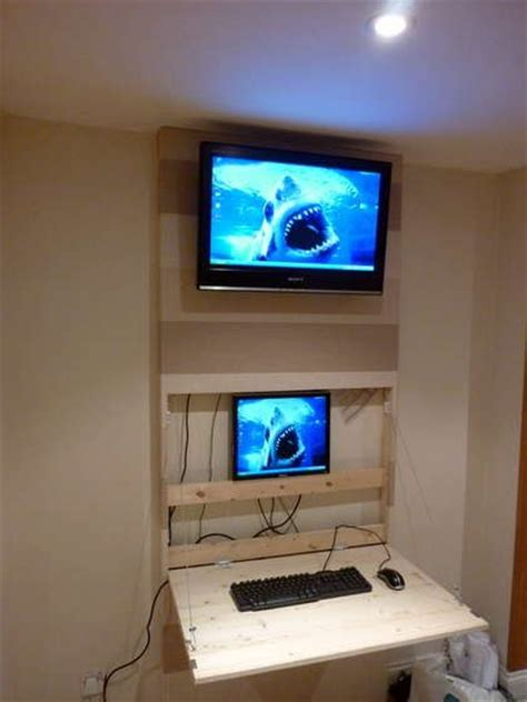 The Tv Wall Mount Desk Pc Housey Things