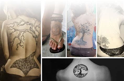 tree of life tattoo designs meaning tree of meanings and design inkdoneright